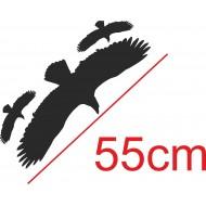 NAKLEJKA PTAK 55cm odstraszacz ptaków - GRATISY